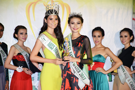 Miss KL Earth - Water 2015 Yoyo Lee