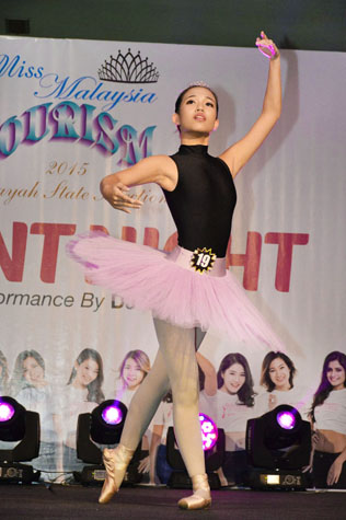 Miss Wilayah Tourism 2015 Miss Talent winner Yew Jie Ying