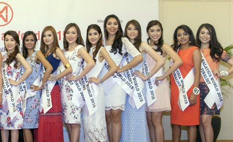 One of these beauties could be our next Miss Malaysia World 2015.