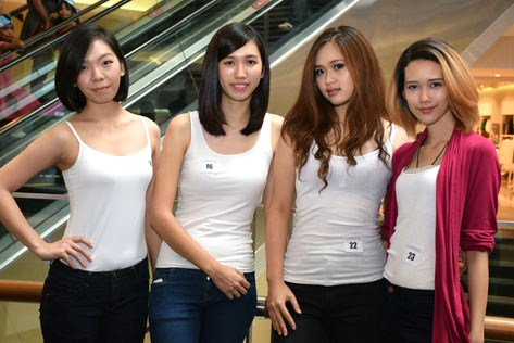 (L-R) Jing Xian, Keat Yan, Eugenie Wee and Michelle Yvonne Woulfe