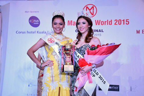 Miss Malaysia World 2015 2nd Runner Up Melinda Lee Chen Ling