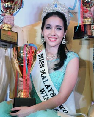Miss Malaysia World 2015 Brynn Zalina Lovett from Sabah