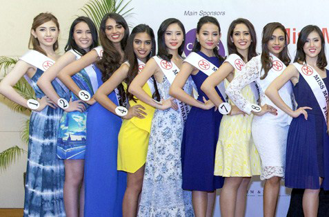 The girls are really excited to have been chosen as finalists for Miss Malaysia World 2015.