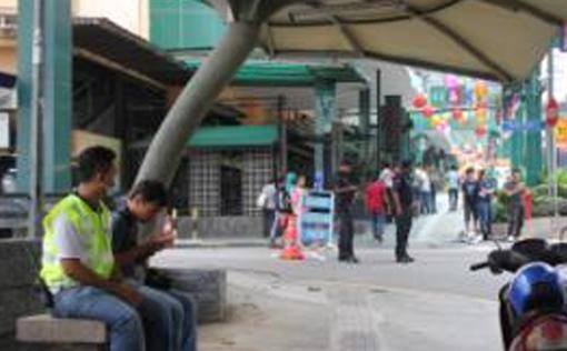 The situation at Bukit Bintang was calm 2