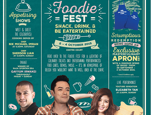 he Curve's Foodie Fest is a not-to-be-missed weekend