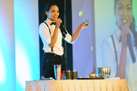 Best Talent goes to Tan Jo Ring of Singapore for her special concoction