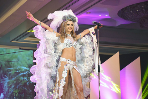 Miss Cosmopolitan World 2015 Best National Costume Winners Rachel Harradence (New Zealand)