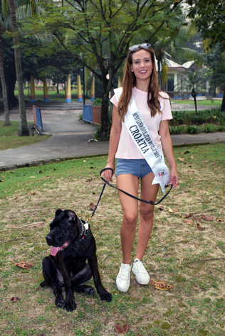 Miss Cosmopolitan World 2015 Croatia  Andrea Ankovic