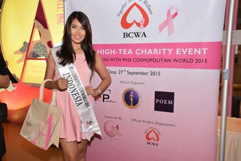 Miss Cosmopolitan World 2015 Indonesia Maya Novethesia