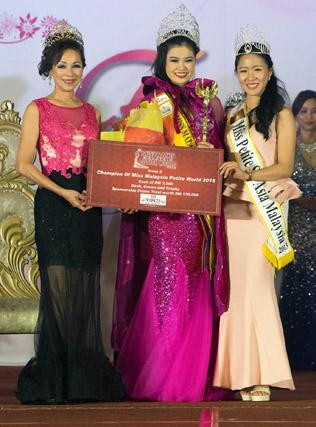Miss Malaysia Petite World 2015 winner Audrey Lee.