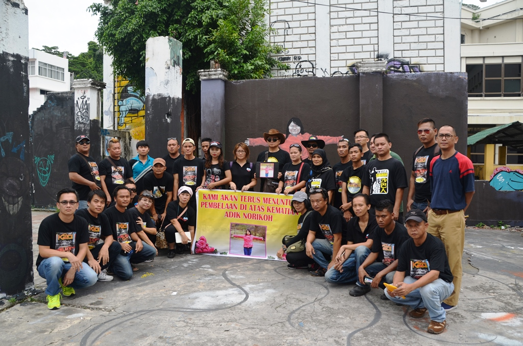 black sunday group photo during the remembrance of norikoh