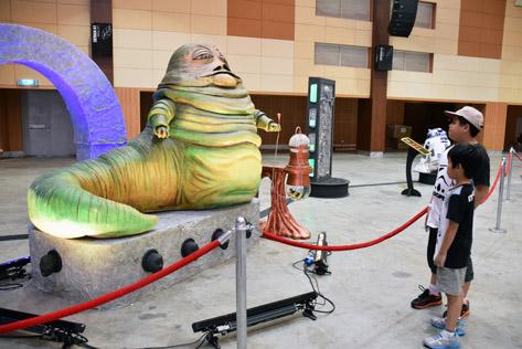 Jabba the Hutt from Star Wars