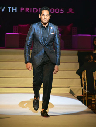 Khairy Jamaluddin takes to catwalk in support for breast cancer survivors