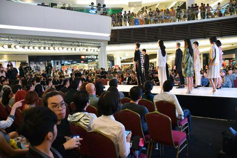 Malaysia Supermodel 2015 grand finals at Paradigm Mall