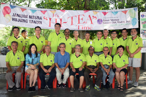 Rukun Tetangga Seksyen 20A Taman Paramount,   Petaling Jaya Year End Hi Tea 2015