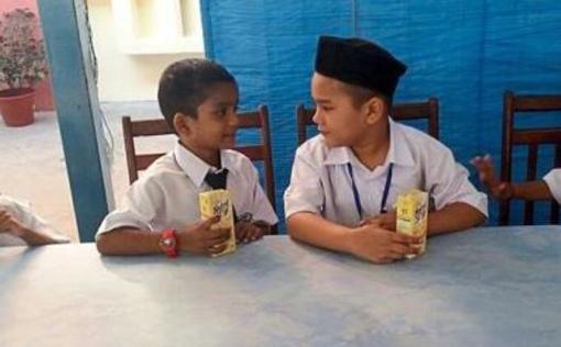 Pelajar Melayu Mendaftar di Sekolah Tamil
