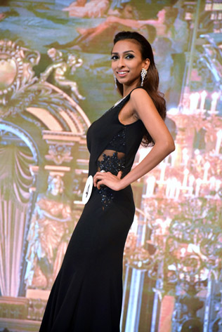 Miss Universe Malaysia 2016 first runner-up Dhivya Dhyana
