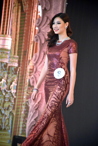 Miss Universe Malaysia 2016 second runner-up Lina Soong