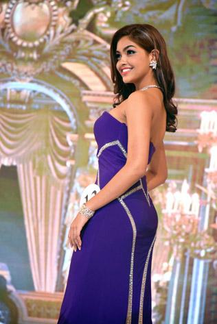 Miss Universe Malaysia 2016 third runner-up Swarna Naidu