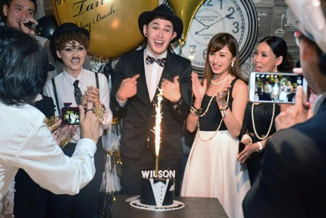 Professional model Wilson Tan celebrated his 34th birthday with a star-studded bash in Charlie Chaplin Café in One City Mall, USJ on Jan 28, 2016
