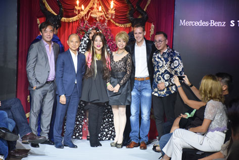 (L-R) Cher Ng,  Datuk Prof (Dr) Jimmy Choo, Datuk Nancy Yeoh, Datin Winnie Loo, Mark Raine and Dr CocoAlex Yeoh
