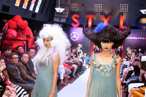 Mercedes-Benz Stylo Asia Fashion Festival 2016 kicked off its annual extravaganza with an outlandish, highly imaginative, avant-garde hair showcase