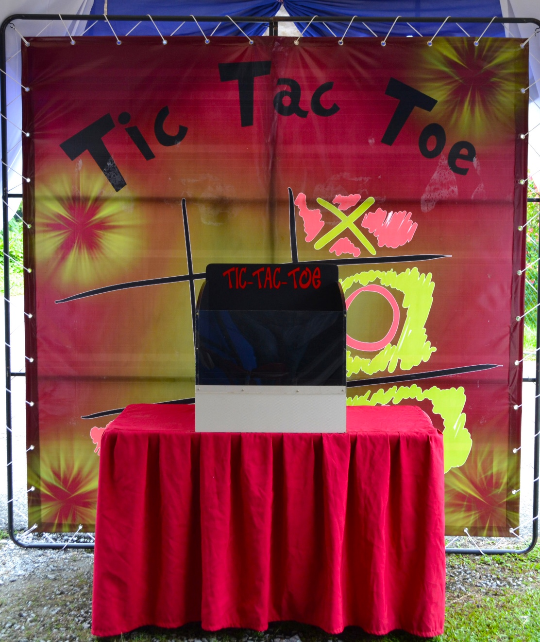 The most interesting and unconventional 'Tic-Tac-Toe' game can be found at Carnival Funtime.