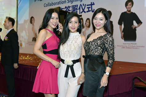 (L-R) Irene Wong, Isabelle Liow and Emily Tang