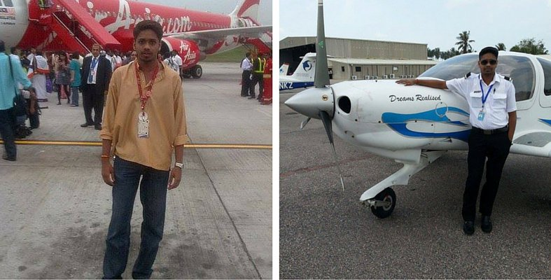 The inspirational story of Kugan who joined Air Asia as an office boy and has become a first officer August last year