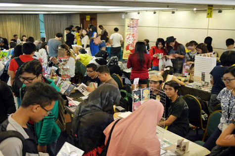 Like in previous years, there will be artist booths for visitors to check out