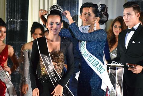 Miss Earth KL 2016 - Miss Eco Tourism 2016 Prisilla Mujan Peter