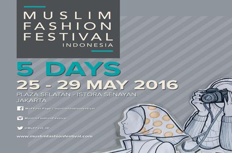 Muslim fashion Festival, Jakarta 2016