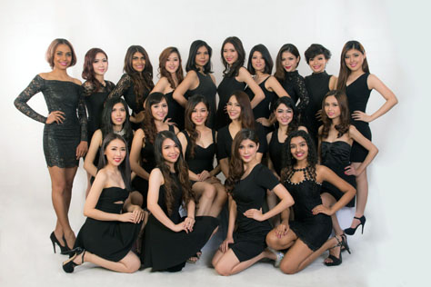 20 semi finalists for the Miss Malaysia Noble Queen International 2016 pose for their group photo. One of these lovely young ladies will be crowned Miss Malaysia Noble Queen International 2016.