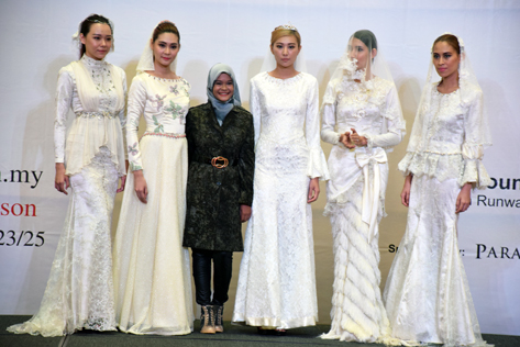 Amazing couture bridal gowns designed by IFTC students