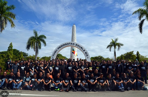Double 6 Monument in Sembulan pays tribute to the fallen heroes in the tragic plane crash.