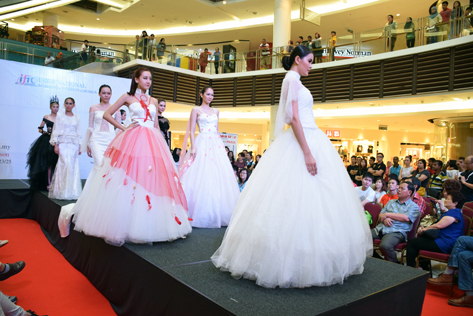 IFTC students show off their creations at the IFTC Young Star Fashion Runway Show at Paradigm Mall, Petaling Jaya