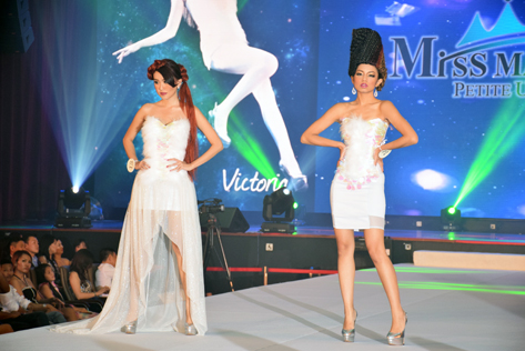 MMPU 2016 finalists parade onto the catwalk in high fashion wear
