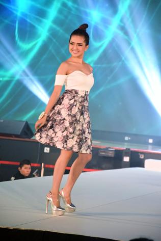 Miss Malaysia Petite Universal 2016 first runner-up Candace Cheah Sook Peng