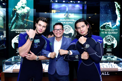 Grand Opening for 1st Ball Watch Boutique in 1Utama