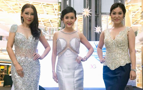 (L-R) Irene Wong, Isabelle Liow, and Emily Tang.