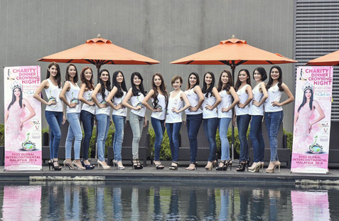 Miss Global Intercontinental Malaysia 2016 finalists