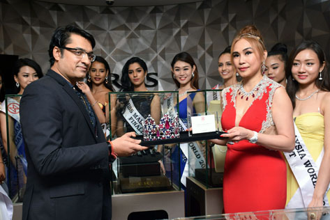 Miss Malaysia World 2016 Will Wear Crown worth US$1.1 Million