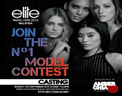 Elite Model Look 2016 Malaysia
