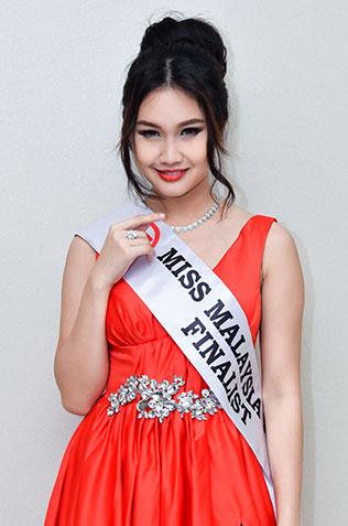 Janice Tan - Miss Malaysia World 2016 finalist