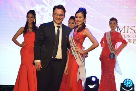 MGIM 2016 -Miss Beautiful Skin Peggy Ping Johannes