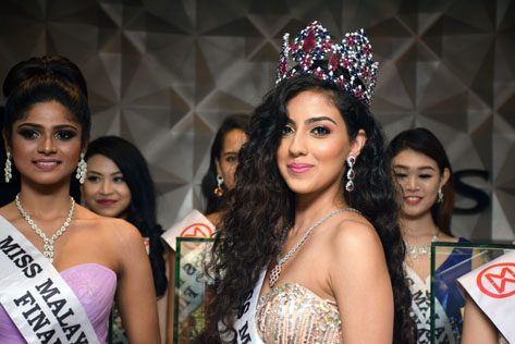 Miss Malaysia World 2016 finalist Dr Ranmeet Jassal smiled and wished this was the crowning moment