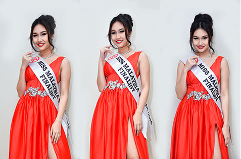 Labuan Beauty Queen Dedicated to Challenging Herself