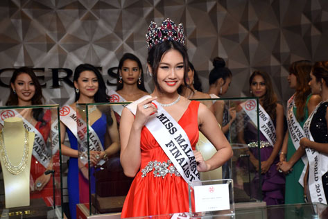 Miss Malaysia World 2016 finalist Janice Tan