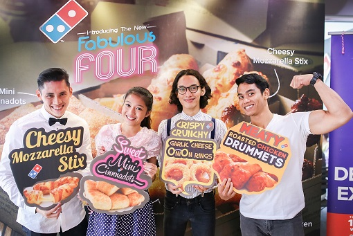 Domino's Unveils First Sweet and Savoury Combo