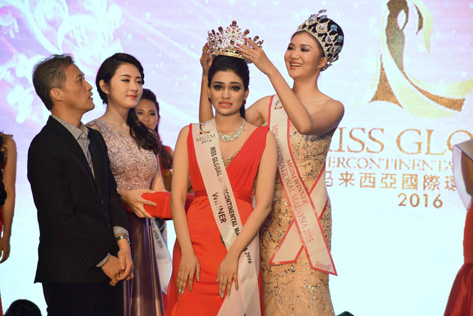 Ipoh Lawyer Crowned Miss Global Intercontinental M'sia 2016